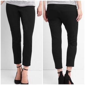 Gap Maternity Black Pull On Ankle Dress Pant